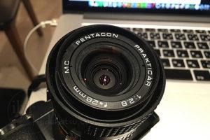 Pentacon Prakticar F2.8 28mm