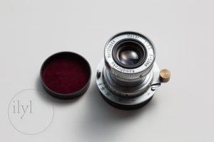 早咲き桜でHexarを試し撮りした Hexar Konishiroku 50mm F3.5  Leica L マウント