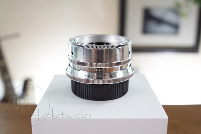 LOMO Smena-8M用レンズ Triplet-43改造 40mm F4.0