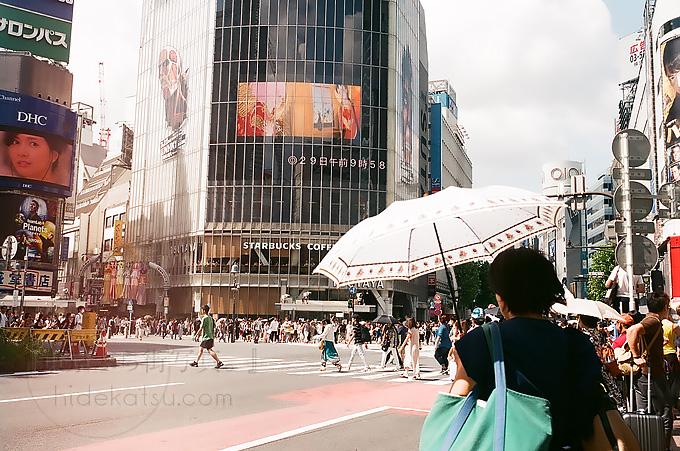 Curtagon 35mmとフィルムカメラ vol2  in 渋谷歩き