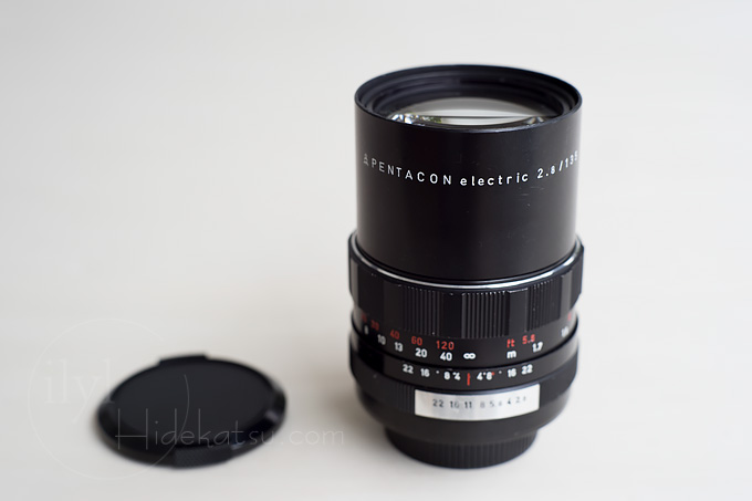 PENTACON electric 135mm F2.8 Taste the atmosphere of Bokeh monsters at an affordable price.