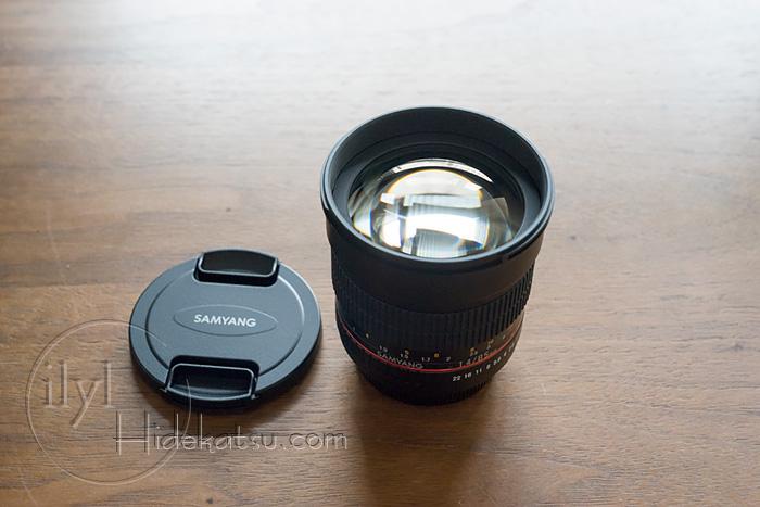 Samyang 85mm F1.4 Canon EF mount