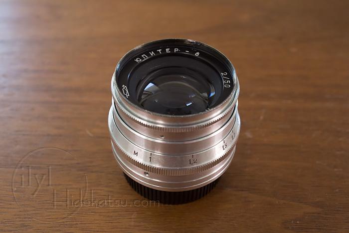 Jupiter-8 50mm Leica L39 in South of Ogikubo - Old lens and