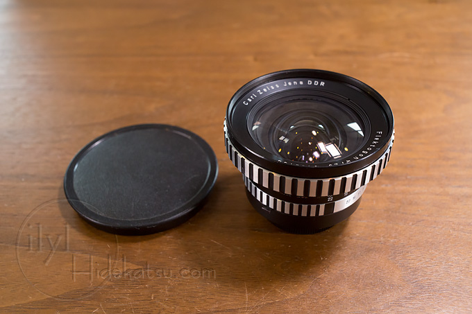 A big lens that attracts eye-catching eyes How stable is the 20mm super wide-angle lens of Flektogon? Carl zeiss jena