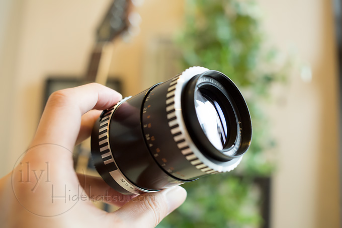 Carl Zeiss Jena / Sonnar 135mm F3 5, a name that remains
