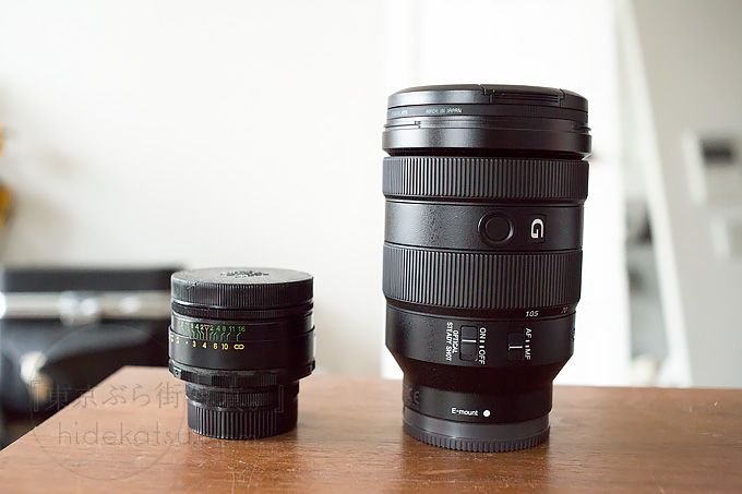 SONY's New Zoom lens FE 24-105mm F4 G OSS which is best for