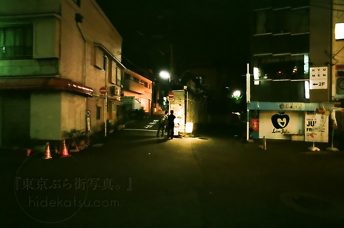 Flektogon 20mm Walk in the night of Shimokitazawa